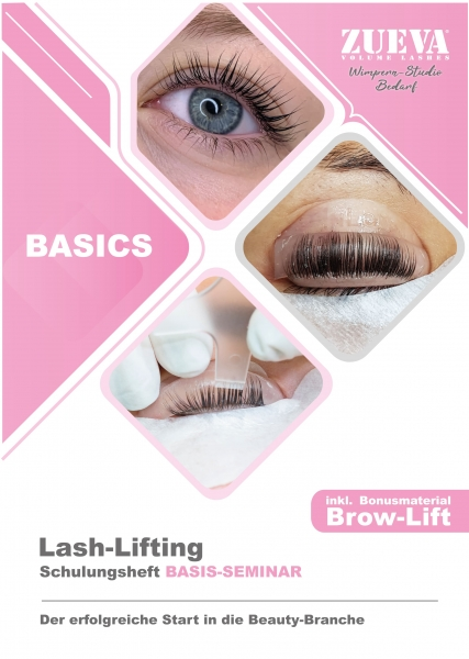 Schulungsmappe Lash Lifting - Private Label
